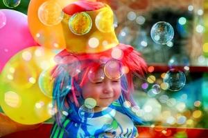 kind luchtbellen