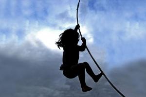 kind klimmen